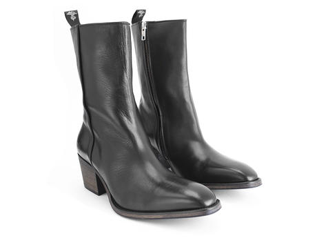 Jim Black Mid-calf men's heel