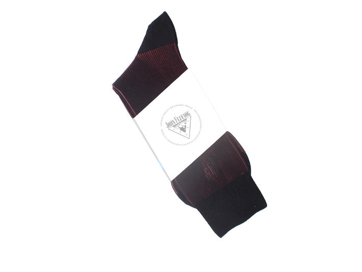 Megs Vog Socks Red Ribbed sock