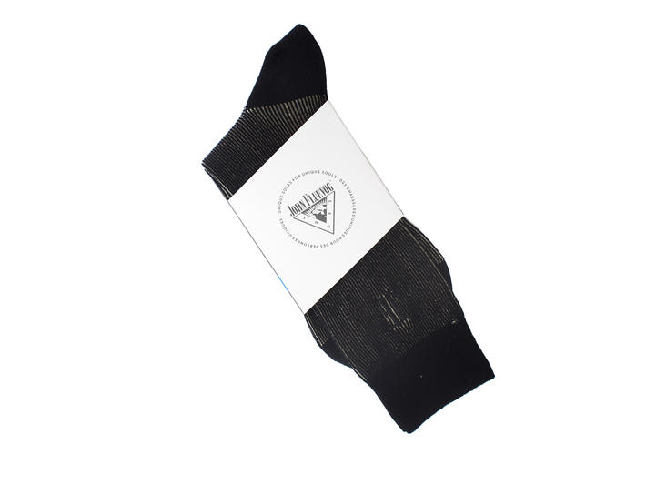 Megs Vog Socks Gold Ribbed sock