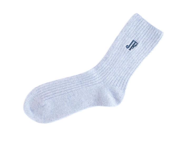 Tess Vog Socks Purple Ribbed knit sock