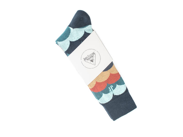 Lux Vog Socks Marine Patterned sock