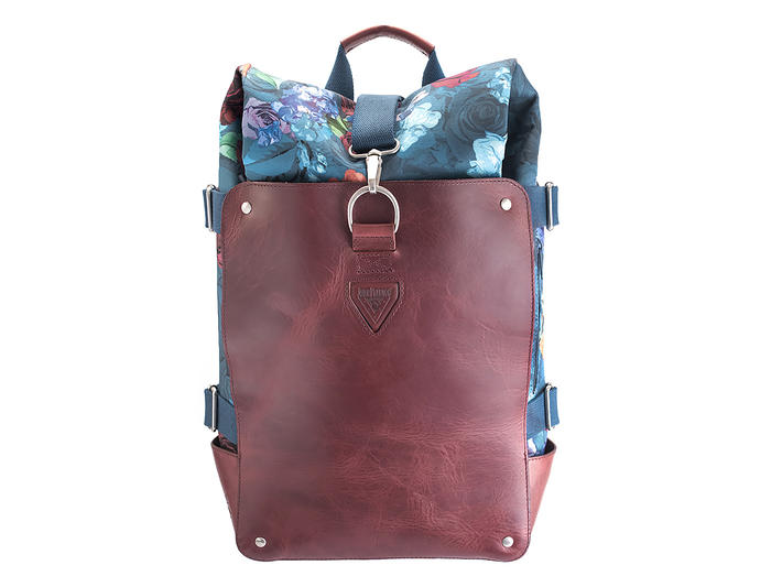 Galiano Floral Rolltop backpack
