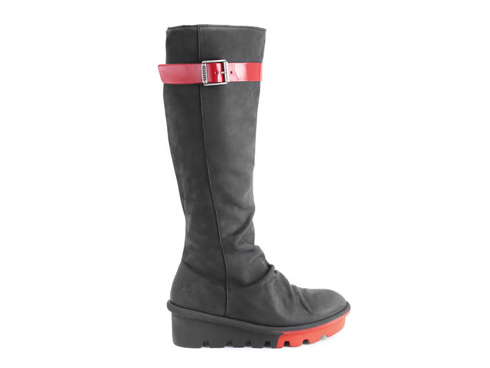 Renegade Black Slouchy tall boot