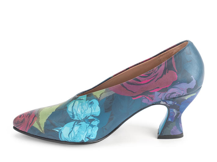 Ioni Floral Sexy leather pump