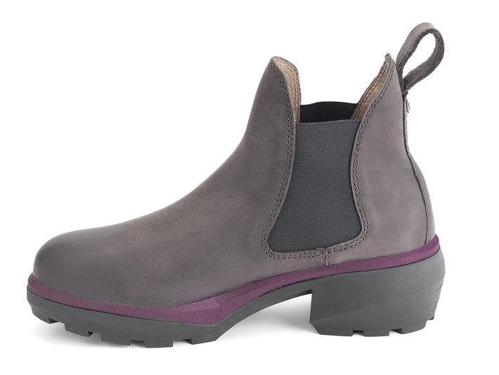 Mulberry Brown Angular chelsea boot