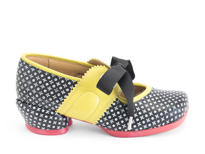 Adele Dots Low heel mary jane