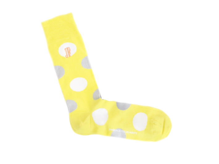 Pipo Vog Socks Yellow Polka dot sock