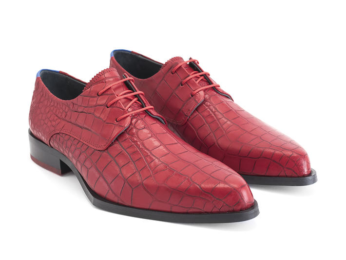Ace Face Red Dragon Simple derby lace-up