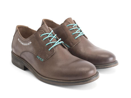 Grant Brown Casual Leather Derby Shoe