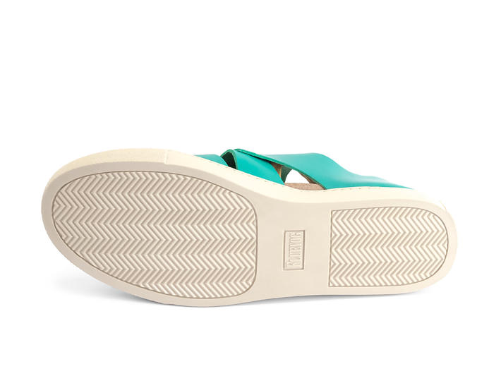 Punch Buggy Sarcelle Sandale sportive entrelacée