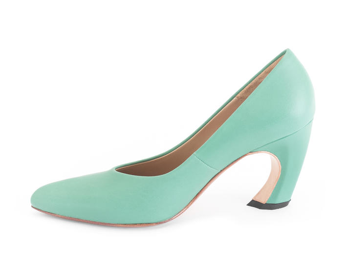 Boogaloo Green Classic pump