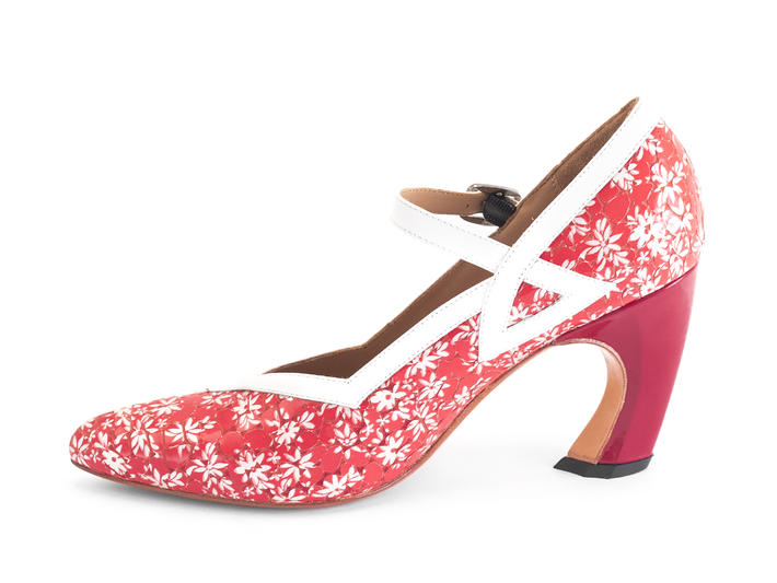 Tango Red Mary jane heel