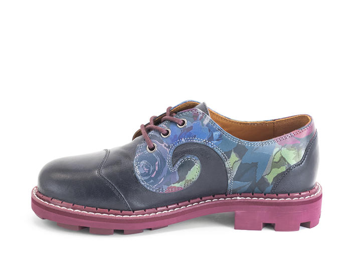 Gibson swirl Floral Floral derby lace-up