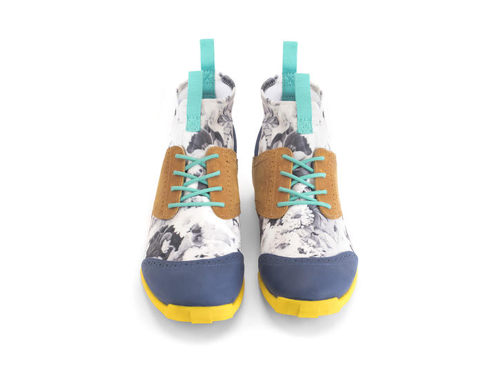 Robin Floral Floral sneaker brogue