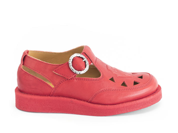 Algoma Red Fisherman sandal with crepe