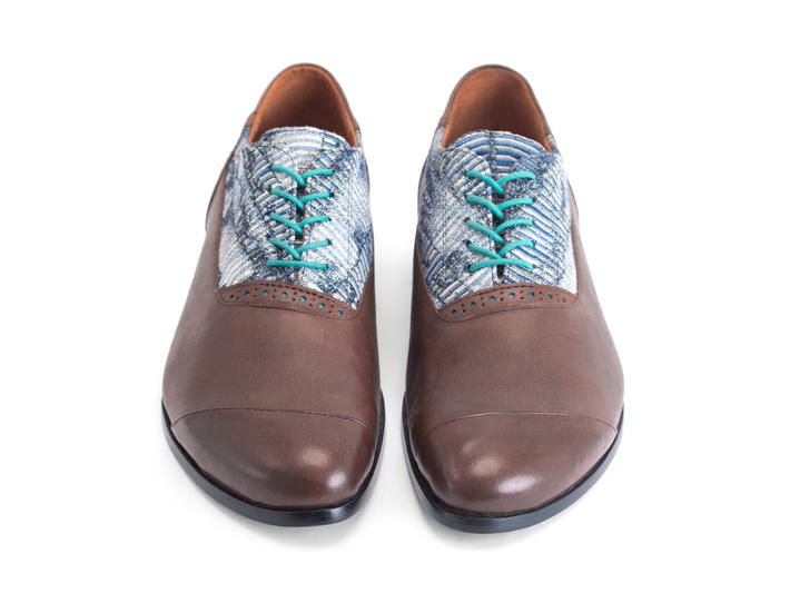 Duston Brown Asymmetric oxford