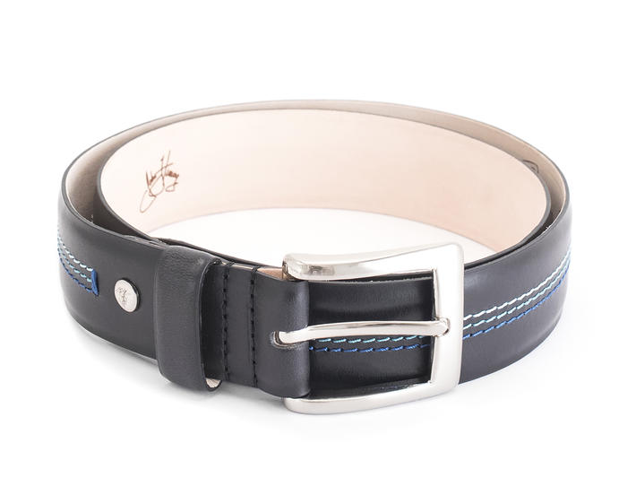 Godfrey Black Patterned belt
