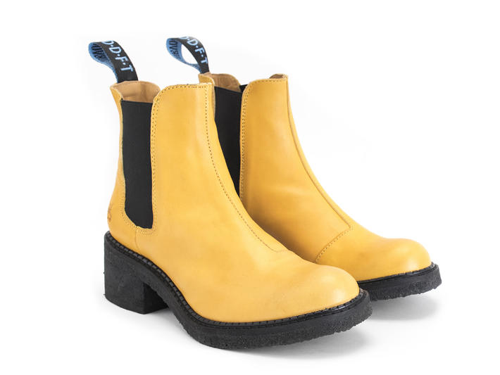 Nap - Yellow | Crepe soled chelsea boot