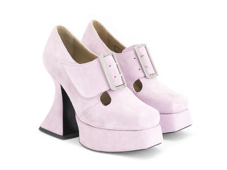 Original Pink Baroque platform heel