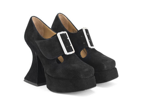 Original Black Baroque platform heel