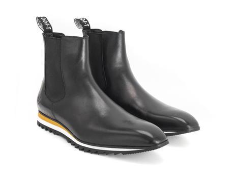 Roland Black Chelsea sneaker boot