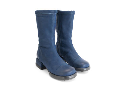 Shannon Blue Mid-calf boot