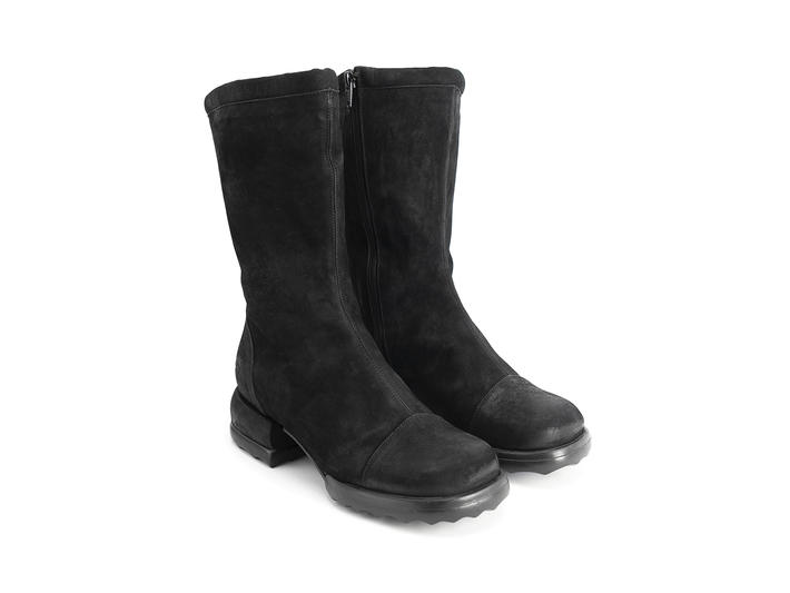 Shannon Black Mid-calf boot