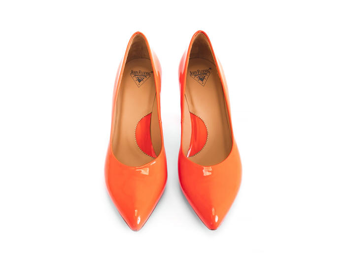 Boogaloo Neon Orange Classic pump