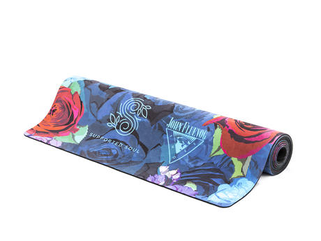 Supported Soul Yoga Mat Floral JF printed yoga mat