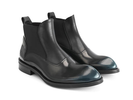 Marcus Petrol Angular chelsea boot