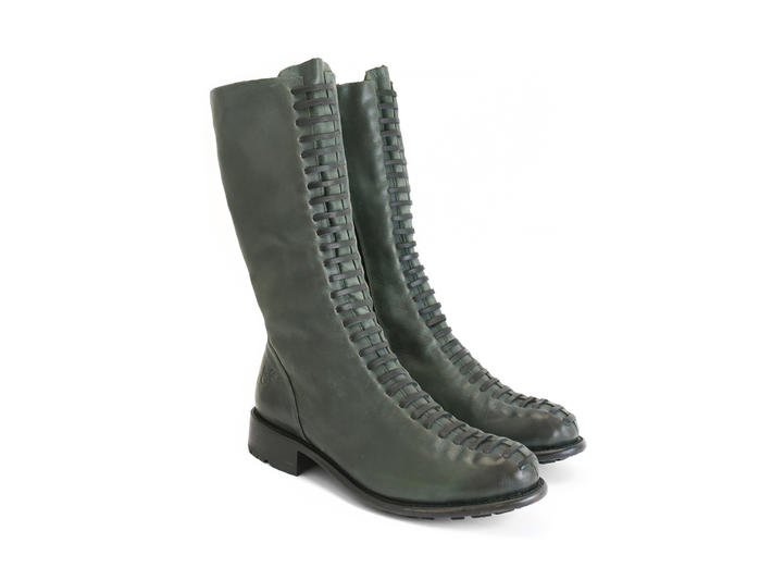 Thatcher Green Boot with faux laces