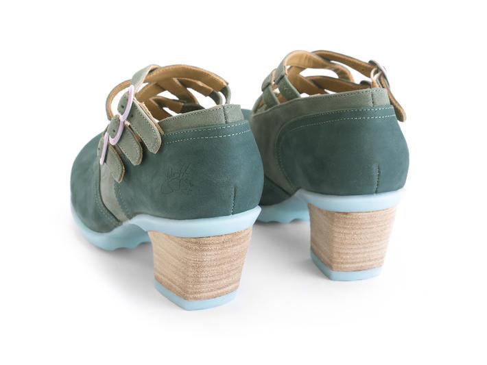 Luxon Vert Multi-strap mary jane