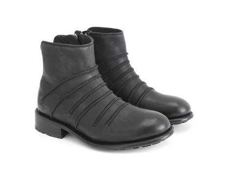 Beauvoir Black Ankle boot with out seams