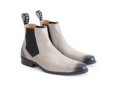 1224 Stark St Pink Leather chelsea boot