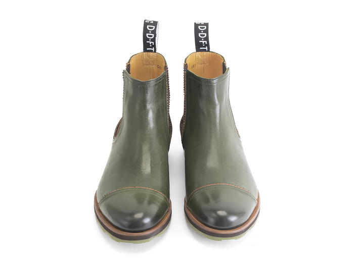 Nathan Green Leather Chelsea Boot