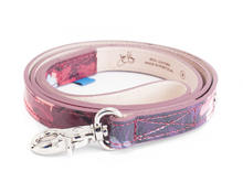 JF Dog Leash JF Floral Leather dog leash