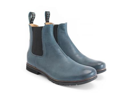 Stephen Blue Classic chelsea boot