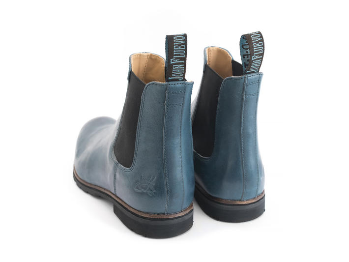Stephen Blue Classic chelsea boot