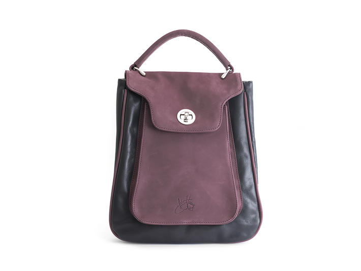 Saturna bag Purple Crossbody tote bag