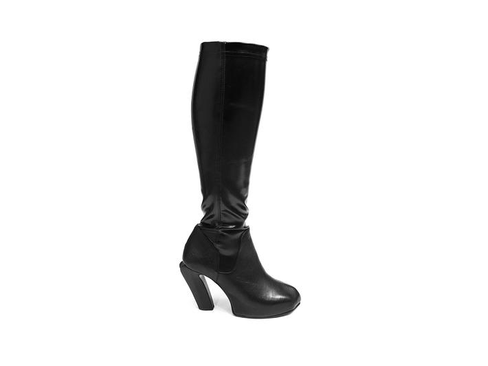 Tura Black Knee high boot