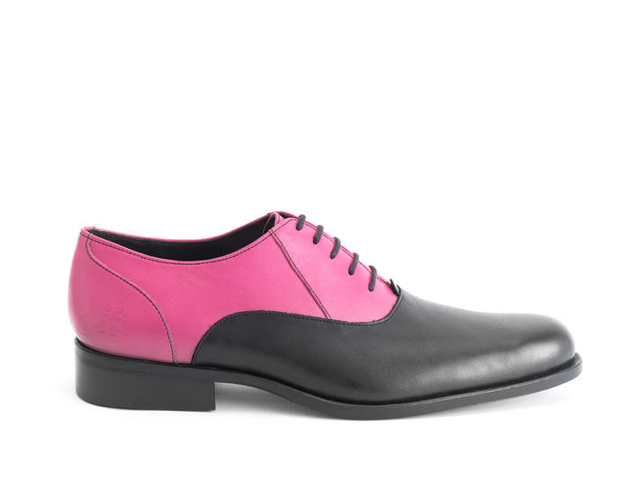 211 Carrall Street Black/Pink Traditional oxfords