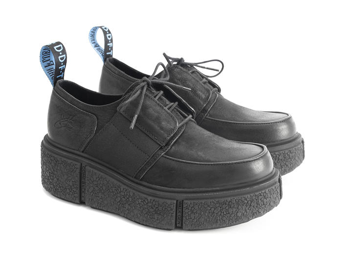 Grimaldi: Men's Black Classic creeper