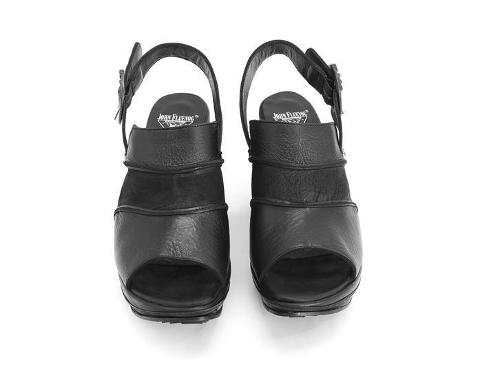 Advisor Black Platform slingback heel