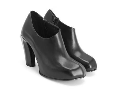 Sable Black Asymmetric bootie