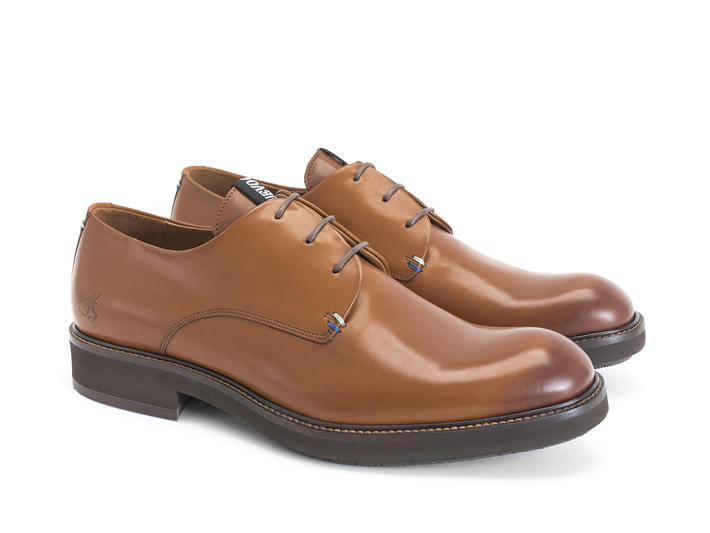 Margetts Brown Lightweight derby shoe