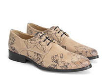 Ace Face Natural/Tattoo Simple derby lace-up