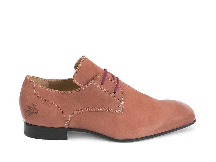 Prysten: Men's Field Square toe lace-up shoe