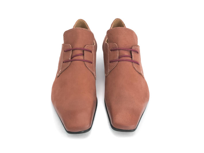 Prysten: Women's Field Square toe lace-up shoe