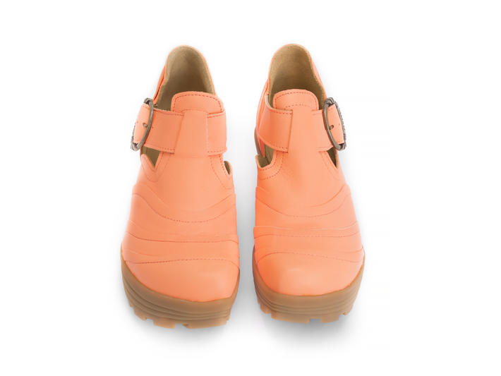 Bossa Nova Neon Orange Neon platform shoe