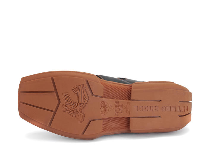 Dave Black/Orange Fisherman sneaker sandal